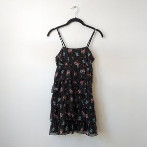 H&M Ruffled Floral Dress
